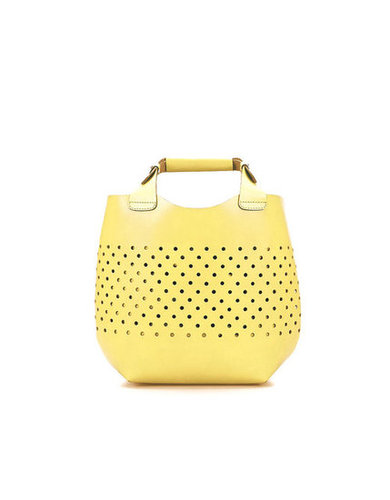 The sunniest (literally!) of Summer styles.  Zara Die-Cast Minishopper ($100)