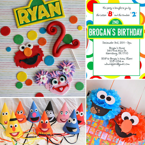 A Sesame Street-Themed Party