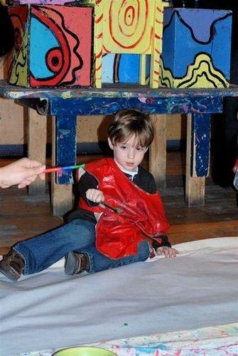 A Jackson Pollock Party