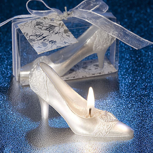 Wedding Shoe Candle Favors