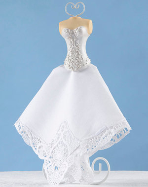 Bride Hanky Holder