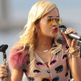 Rita Ora Performing in Cannes