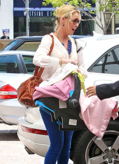 Meet Katherine Heigl's New Baby Daughter