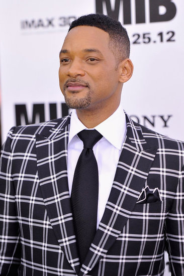 Will Smith looked dapper for the Men in Black III premiere in NYC.