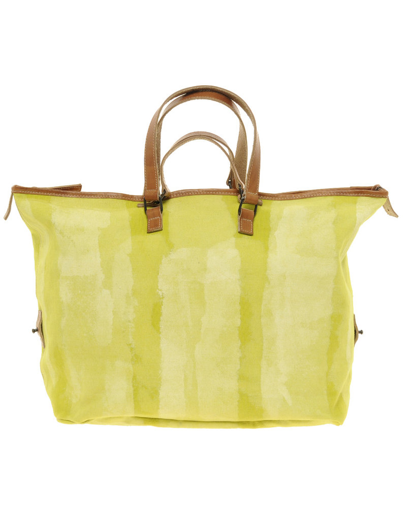 A great carryall tote in the prettiest shade of chartreuse.  Ash Sigigi Bag ($652)