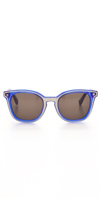 These Rebecca Minkoff shades are cute, unique, and perfect for a sunny park day.  Rebecca Minkoff Chelsea Sunglasses ($150)
