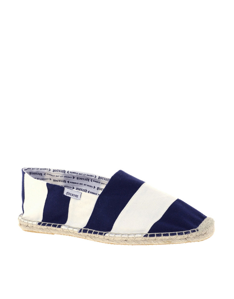 Espadrilles are a Summer no-brainer; wear them with everything from floaty dresses and skirts to cuffed jeans.  Soludos Barca Stripe Espadrilles ($52)