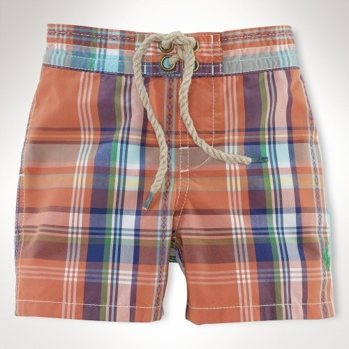 Ralph Lauren Sanibel Plaid Boardshort ($40)