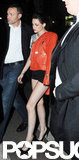 Kristen Stewart Rocks Short Shorts to Party With Robert Pattinson
