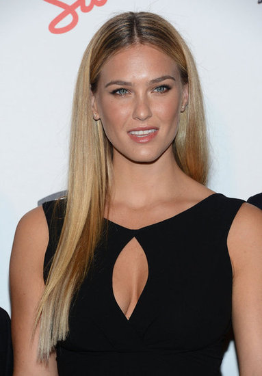 Bar Refaeli arrived at the Maxim Hot 100 List party in NYC.