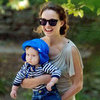Natalie Portman Park Pictures With Aleph