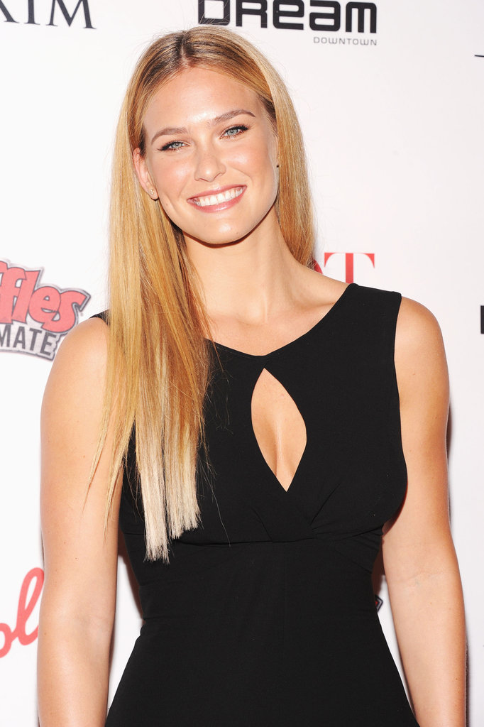 Bar Refaeli walked the carpet at the Maxim Hot 100 List party in NYC.
