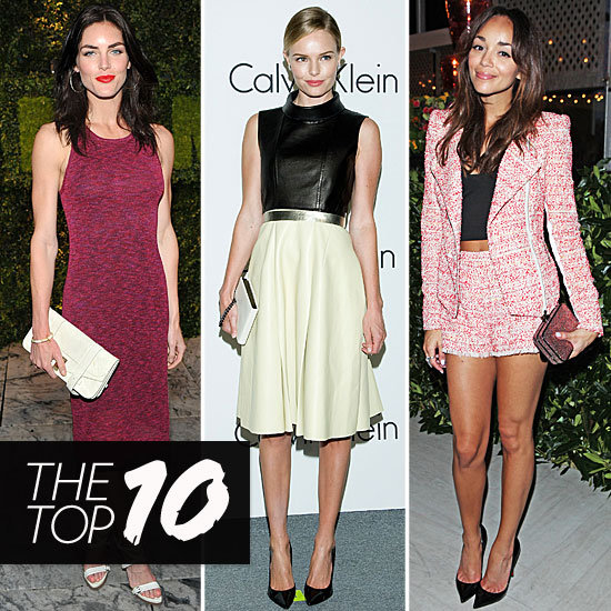 Fab's Top 10 Celebrity Looks of the Week — Hilary, Kate, Ashley, and More!