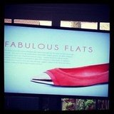 At the Styltread launch we were told about the hottest new footwear trends. Yay for flats!