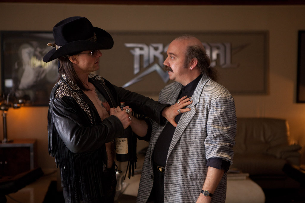 Tom Cruise and Paul Giamatti in Rock of Ages. Photos courtesy of Warner Bros.