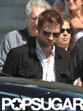 Robert Pattinson vacationed with his parents.
