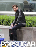 Jake Gyllenhaal was on set in Toronto for his next film, An Enemy.