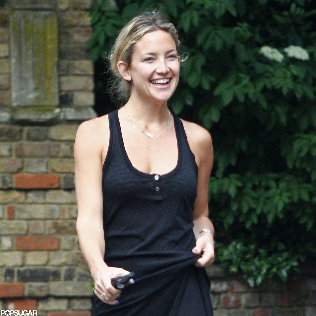 Kate Hudson and Matthew Bellamy Share a Sweet Kiss in London
