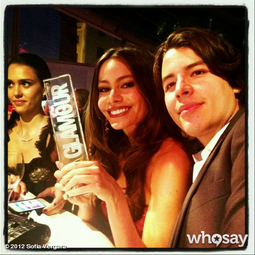 Sofia Vergara took home an award at the Glamour UK Women of the Year event.  Source: WhoSay user Sofia Vergara