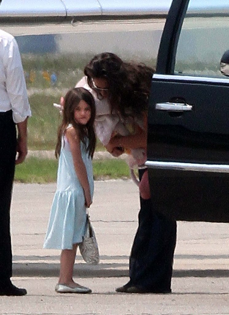 Katie Holmes and Suri Cruise Get to Know Their Connecticut Home Base