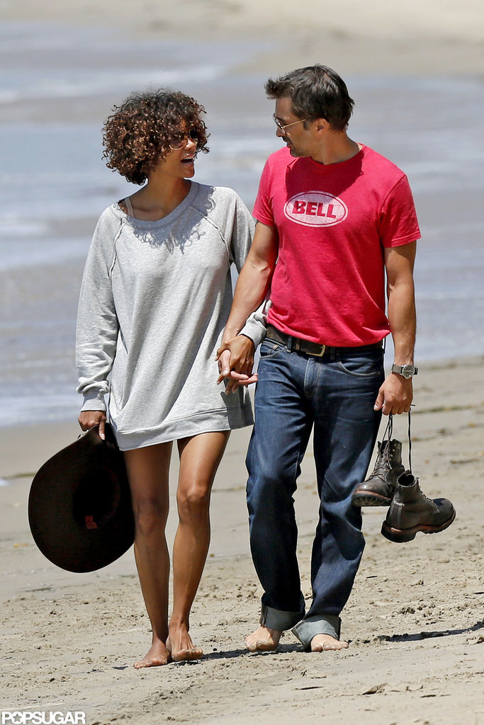 Halle Berry and Olivier Martinez spent Memorial Day weekend together at the beach.