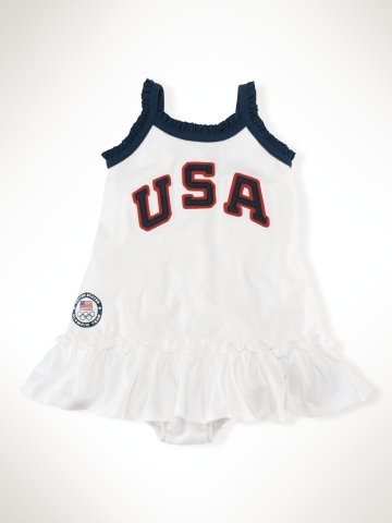 Infant Girls Team USA Tank Dress ($45)