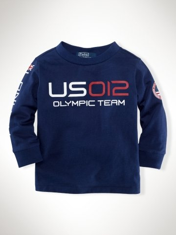 Infant Boys Team USA Long-Sleeved Tee ($25)