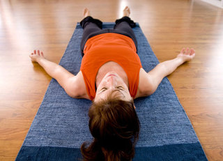 How to Stay in Savasana