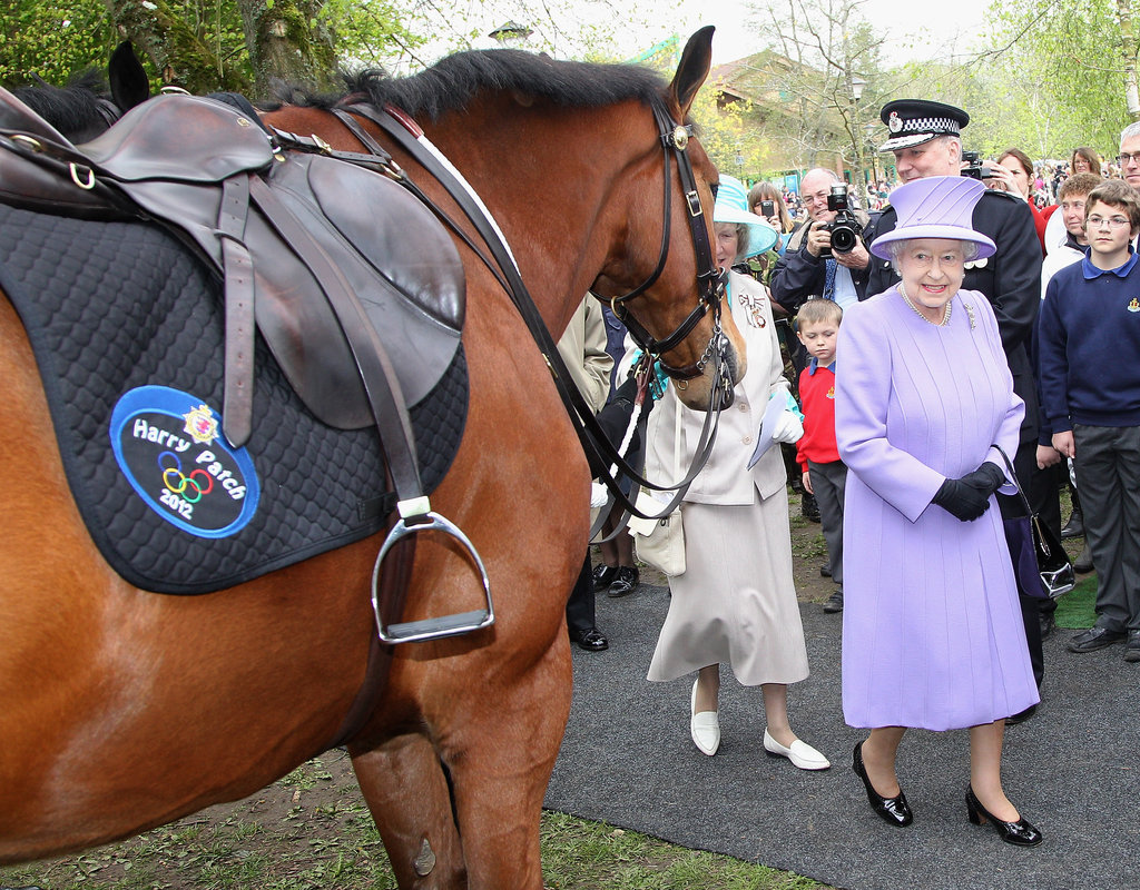 The queen and Duke of Edinburgh visited the Southwest of England as part of their Diamond Jubilee Tour of the country in early May.