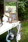 Vintage Princess Guest Book Table