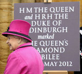 Queen Elizabeth II visited Sherborne Abbey on May 1 in Sherborne, England.