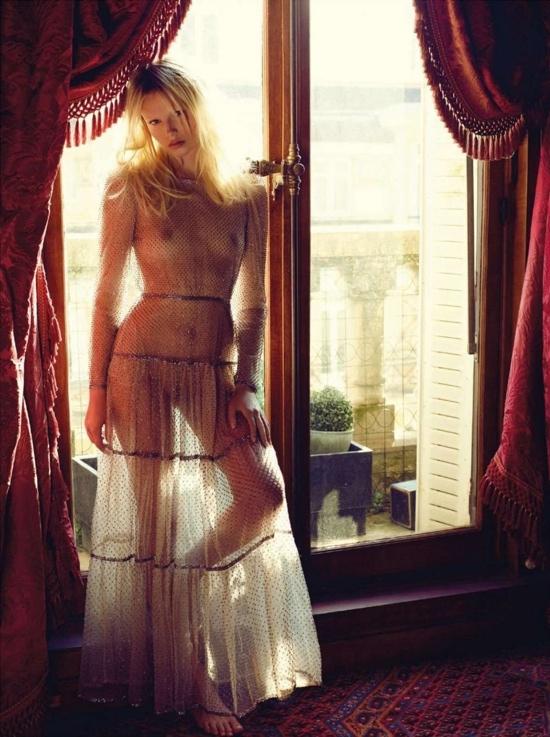 Vogue Paris June/July 2012 Editorial - Natasha Poly