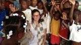 Adriana Lima shared a photo from her trip to Haiti, where she volunteered at a children's hospital. Source: Twitter user AdrianaLima