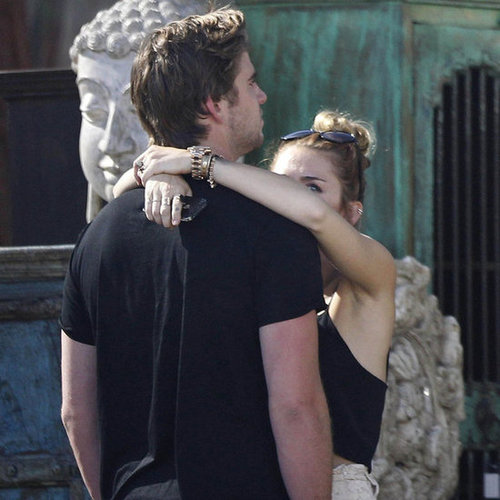 Miley Cyrus Lunch Pictures With Liam Hemsworth and Tish