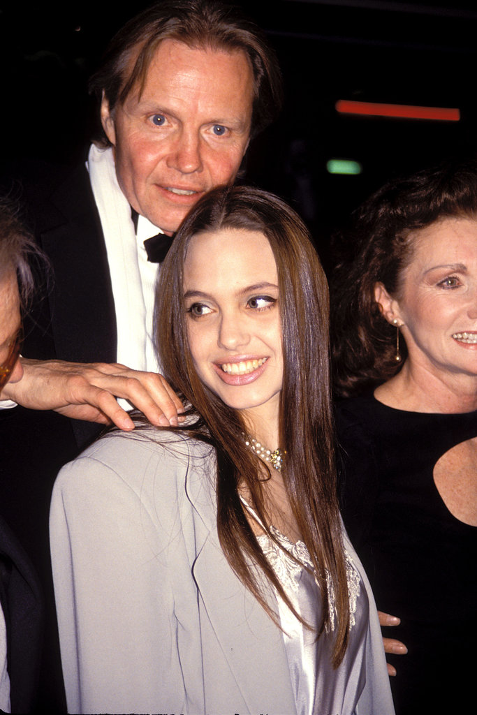 In April 1991, Jon Voight and Angelina Jolie went to the reopening of Tru together in LA.