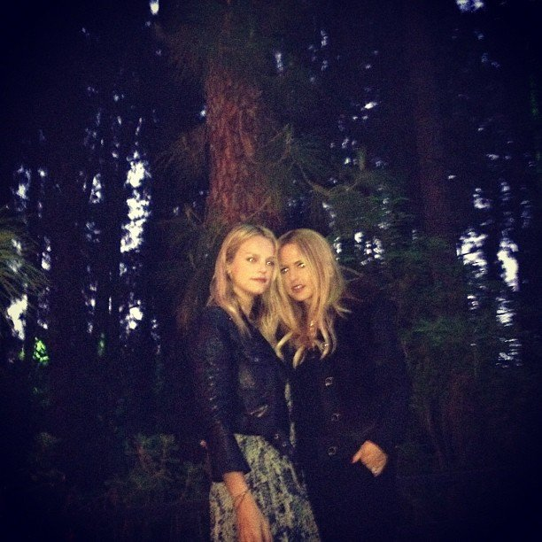 Rachel Zoe spent some time in the great outdoors.  Source: Instagram User kellysawyer