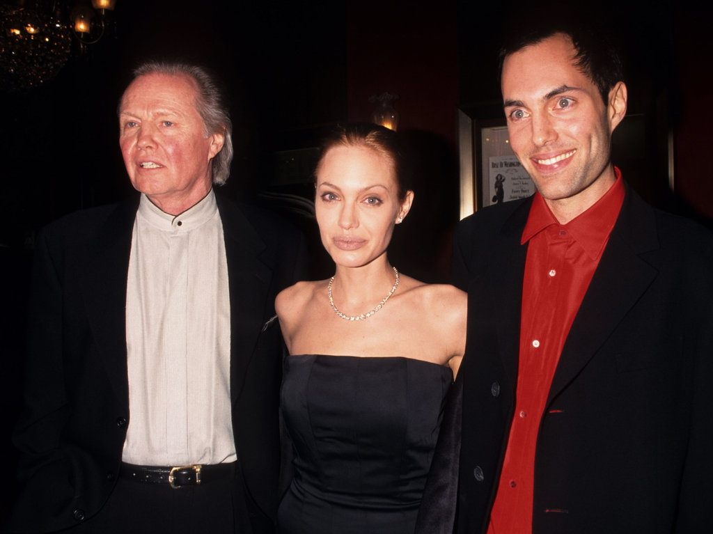 Jon Voight and James Haven went to the October 1999 premiere of Angelina Jolie's The Bone Collector in NYC.