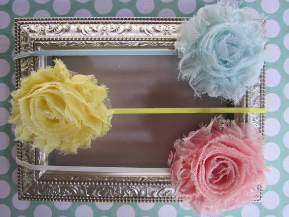 Little Pearl Boutique Rosette Headbands ($14)