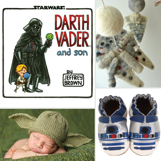 A Long Time Ago, in a Galaxy Far, Far Away, a Star Wars Fan Had a Baby . . .