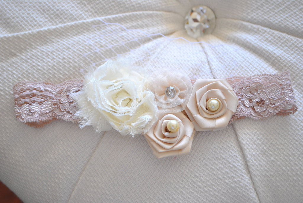 Posh Peanut Kids Lace Baby Headband ($19)