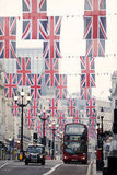 The streets of London have been decorated for the Diamond Jubilee.