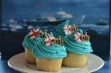 Diamond Jubilee cupcakes were decorated for the celebrations.