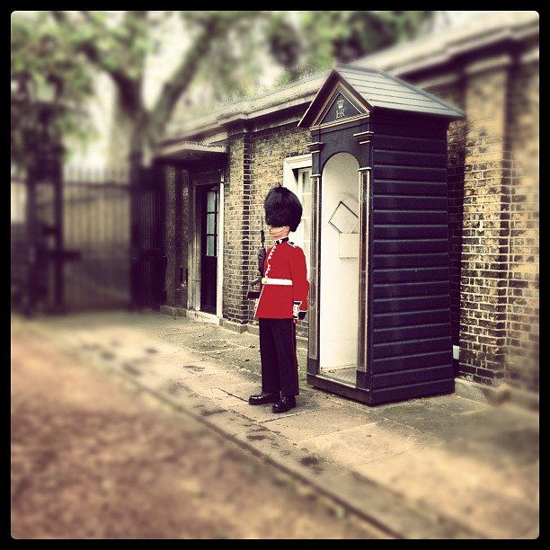 Pose With the Queen's Guard