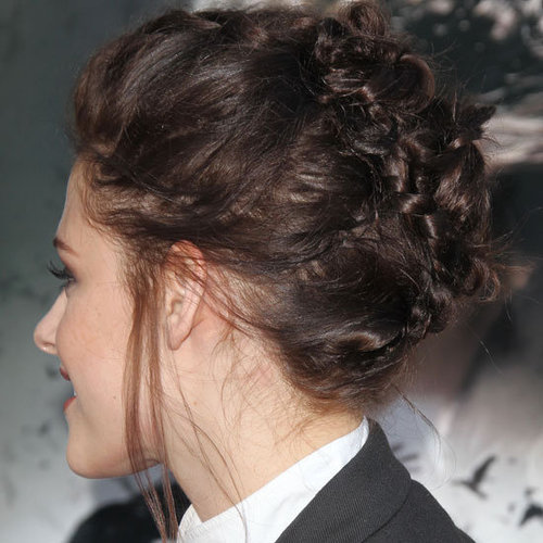 Kristen Stewart's Braided Hairstyle