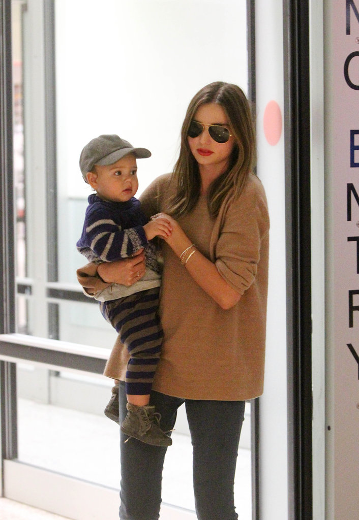 Miranda Kerr took Flynn Bloom to her native Australia.