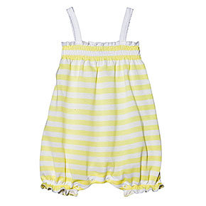 Petit Bateau Baby Girl Striped Coverall ($37)