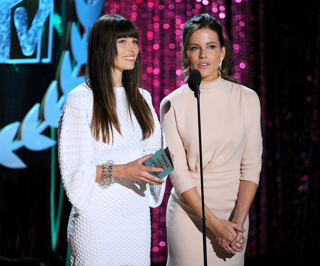 Jessica Biel and Kate Beckinsale