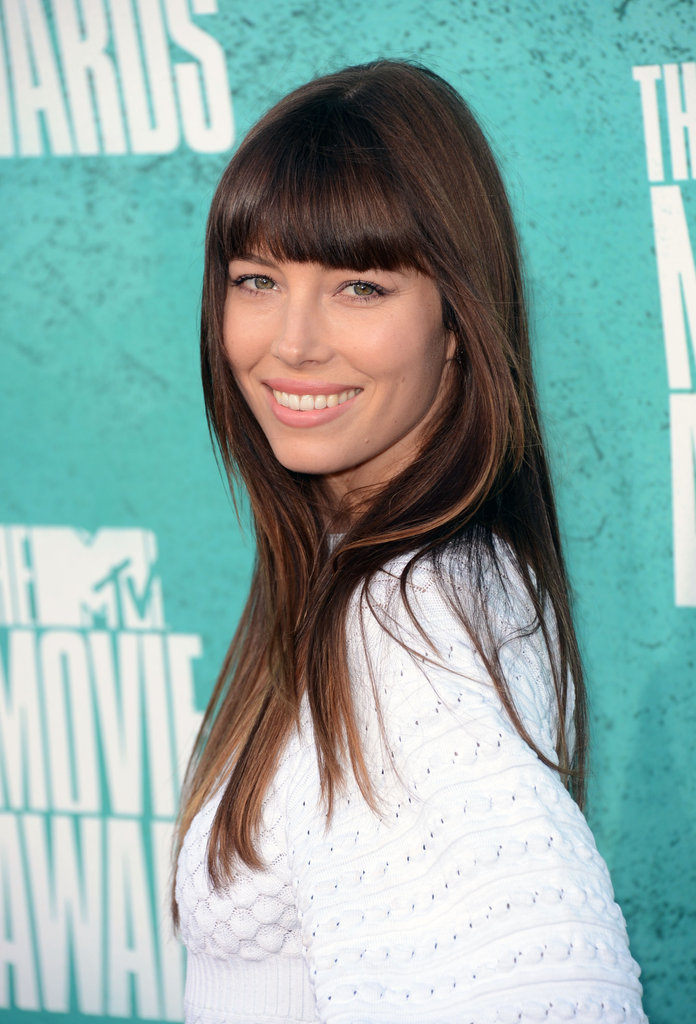 Jessica Biel at the 2012 MTV Movie Awards.