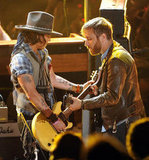 Johnny Depp played with Dan Auerbach.