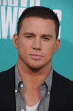 Channing Tatum smiled at the MTV Movie Awards.